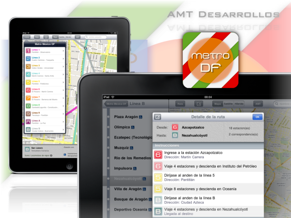 AMT-Metro DF for iPad